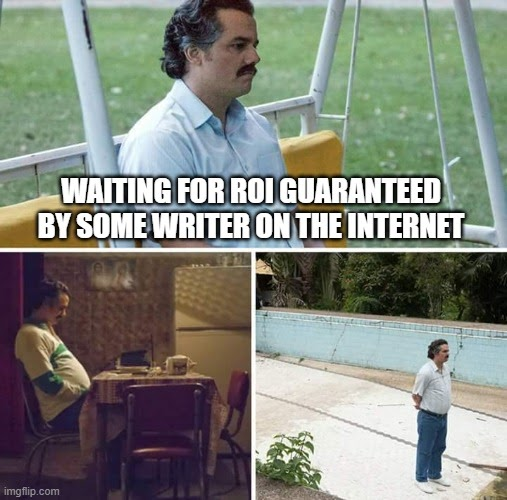 Waiting for roi