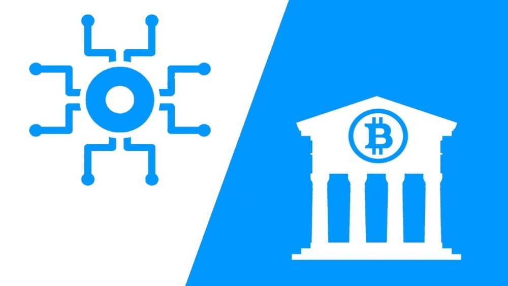 Difference between centralized and decentralized
