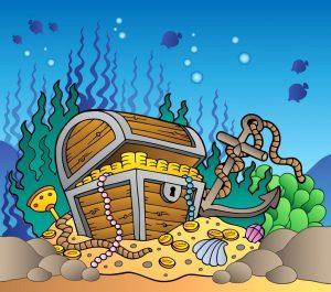 Treasure at the bottom of the sea